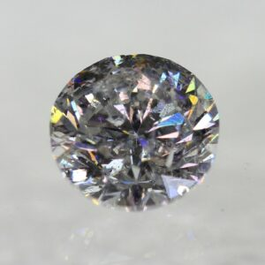 Certified 0.72 Carat D SI2 Round Brilliant Natural Diamond 5.6mm EX CUT #111