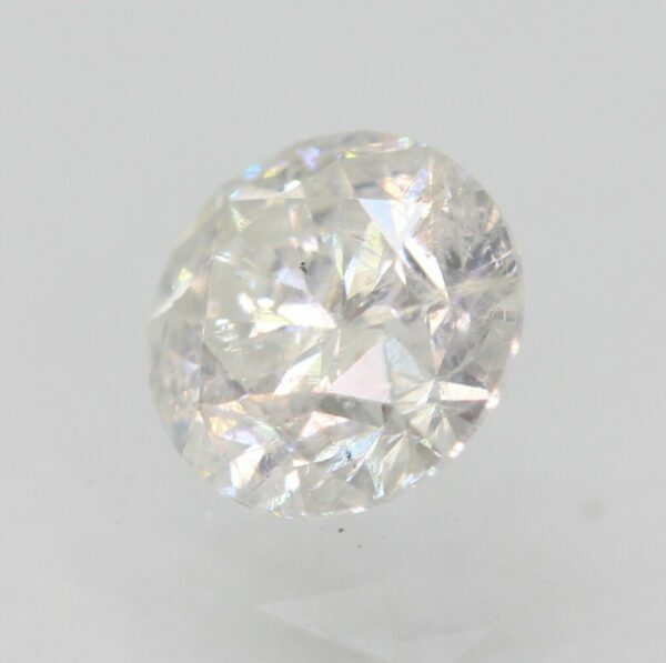 Certified 0.65 Carat F SI2 Round Brilliant Enhanced Natural Loose Diamond 5.11mm#120