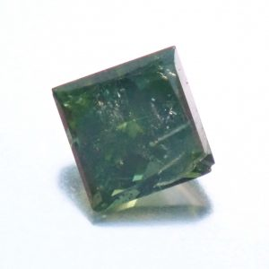 PC090771 1 300x300 - 0.19 Carat Fancy Vivid Green SI3 Princess Enhanced Natural Diamond 3.15X3.14mm #10