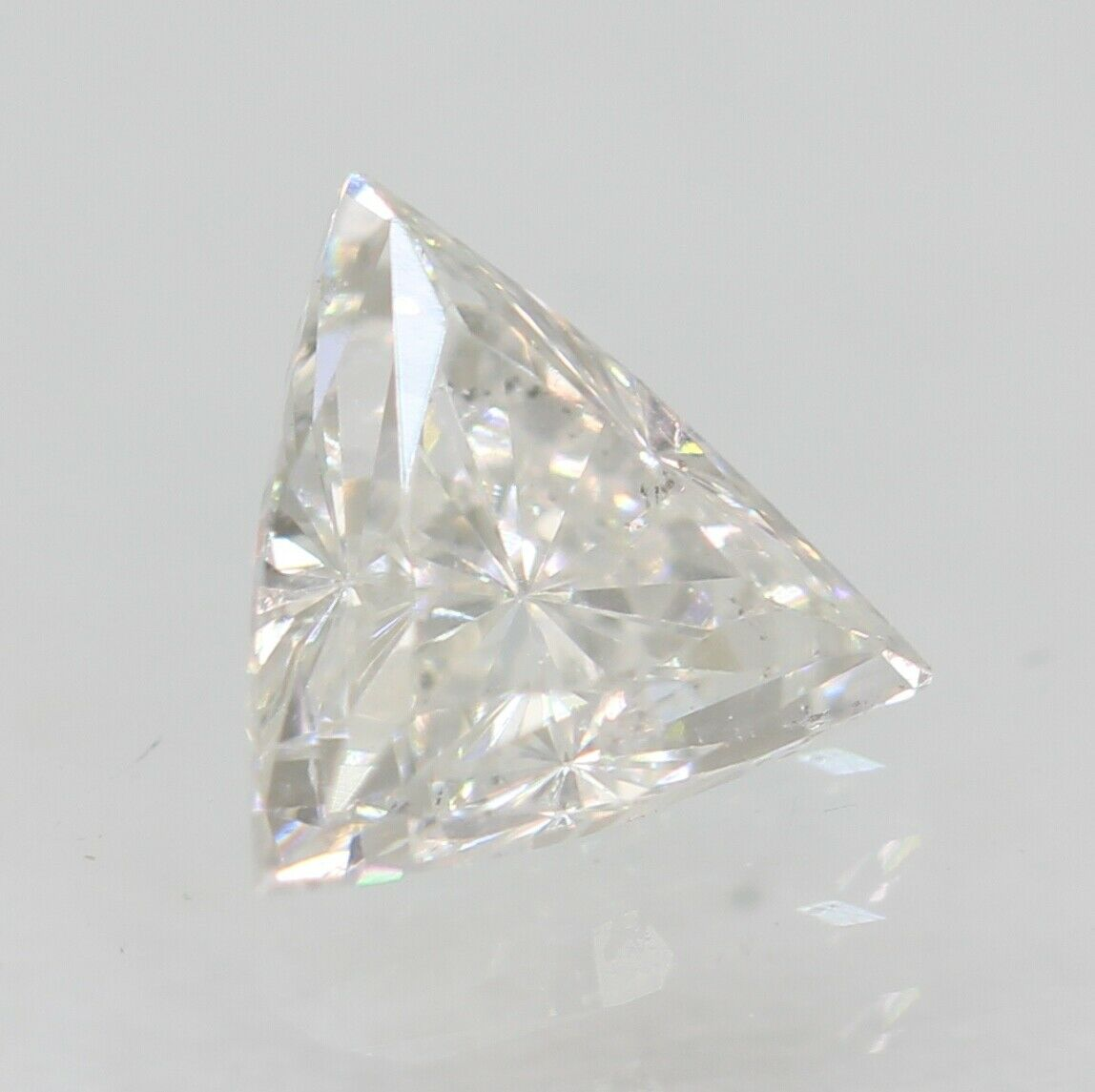 0.28 Carat D Colour SI2 Triangle Natural Loose Diamond For Jewellery 4.55X4.44mm