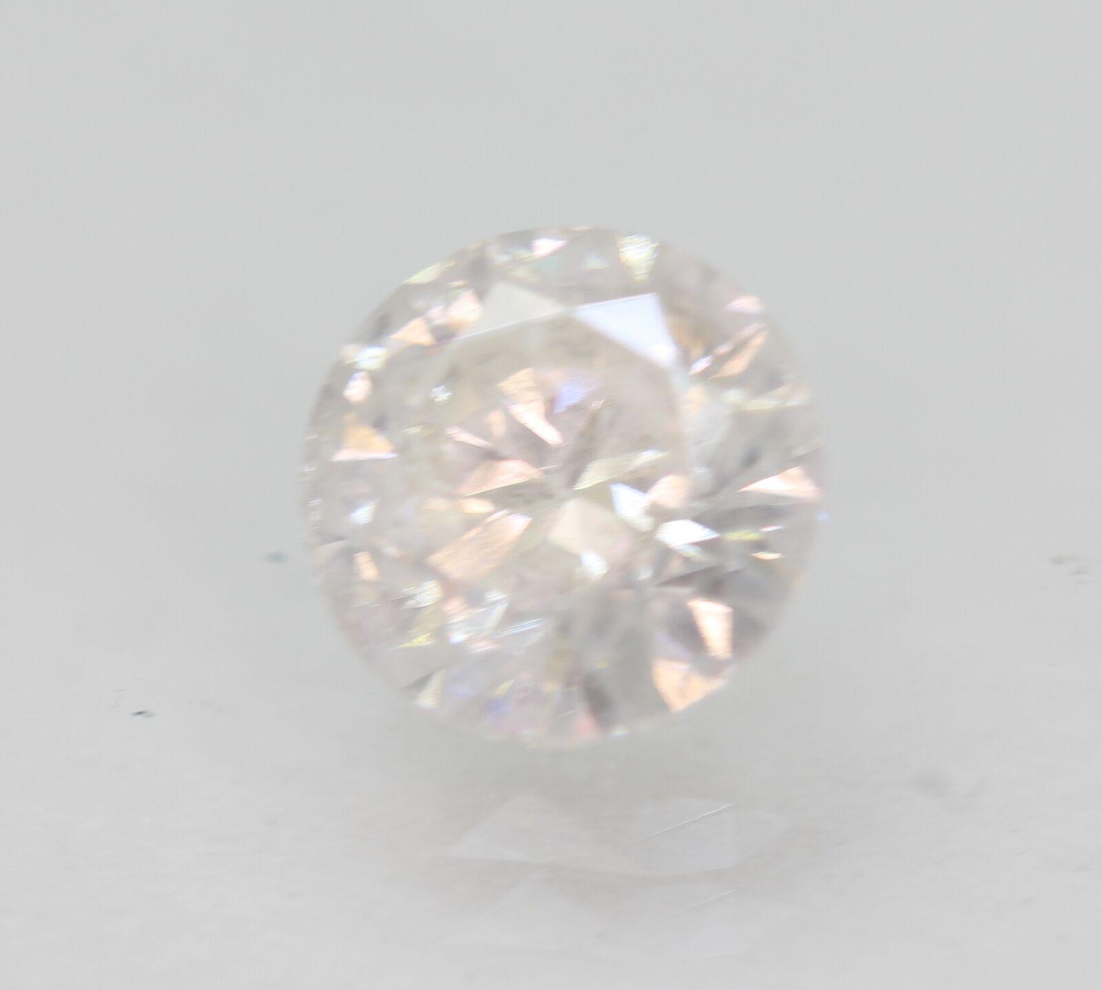 Certified 0.96 Carat D SI2 Round Brilliant Enhanced Natural Loose Diamond 6.17mm