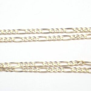 "AZZ00797 1 scaled 300x300 - 14ct Yellow Gold Figaro Linked Chain with Lobster Claw Clasp 22"" - 12.7gms #320"