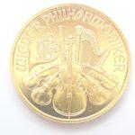 AZZ00818 150x150 - 2012 Austrian Philharmonic Tenth Ounce 24 Carat Gold Coin