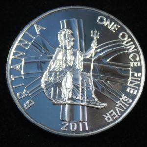 2011 1oz Fine Silver £2 Proof Britannia Coin #21