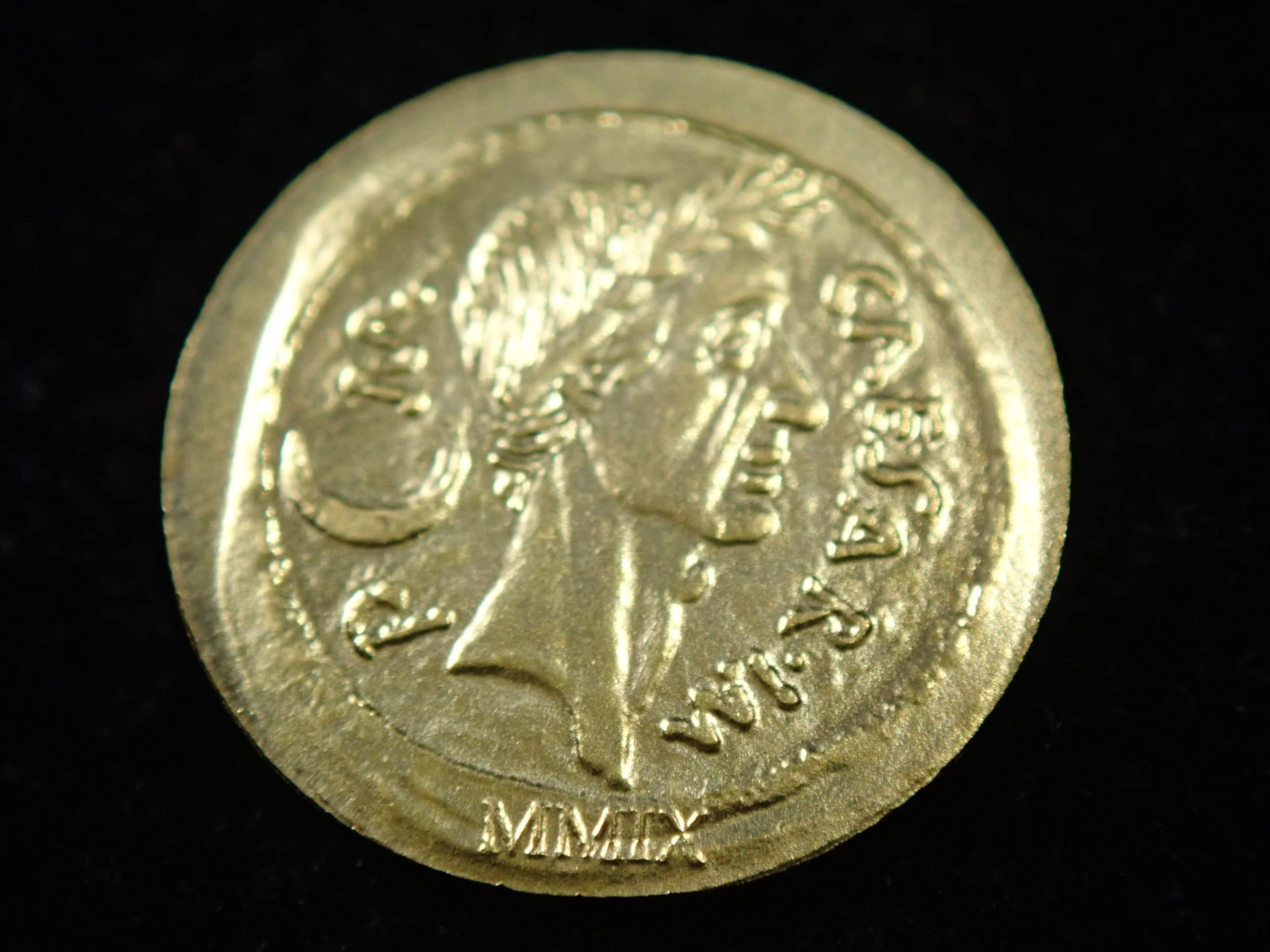 2009 $1 Roman Empire Series .999 24k Gold 0.5grams