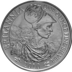 2010 1oz Fine Silver £2 Proof Britannia Coin #21