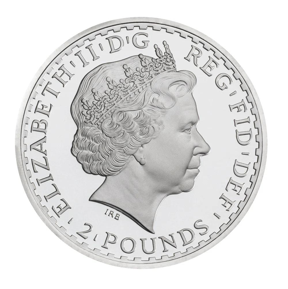 2012 1 - 2013 1oz Fine Silver £2 Britannia Coin Bullion #21