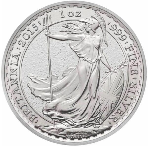 2015 1oz Fine Silver £2 Britannia Coin Bullion #21