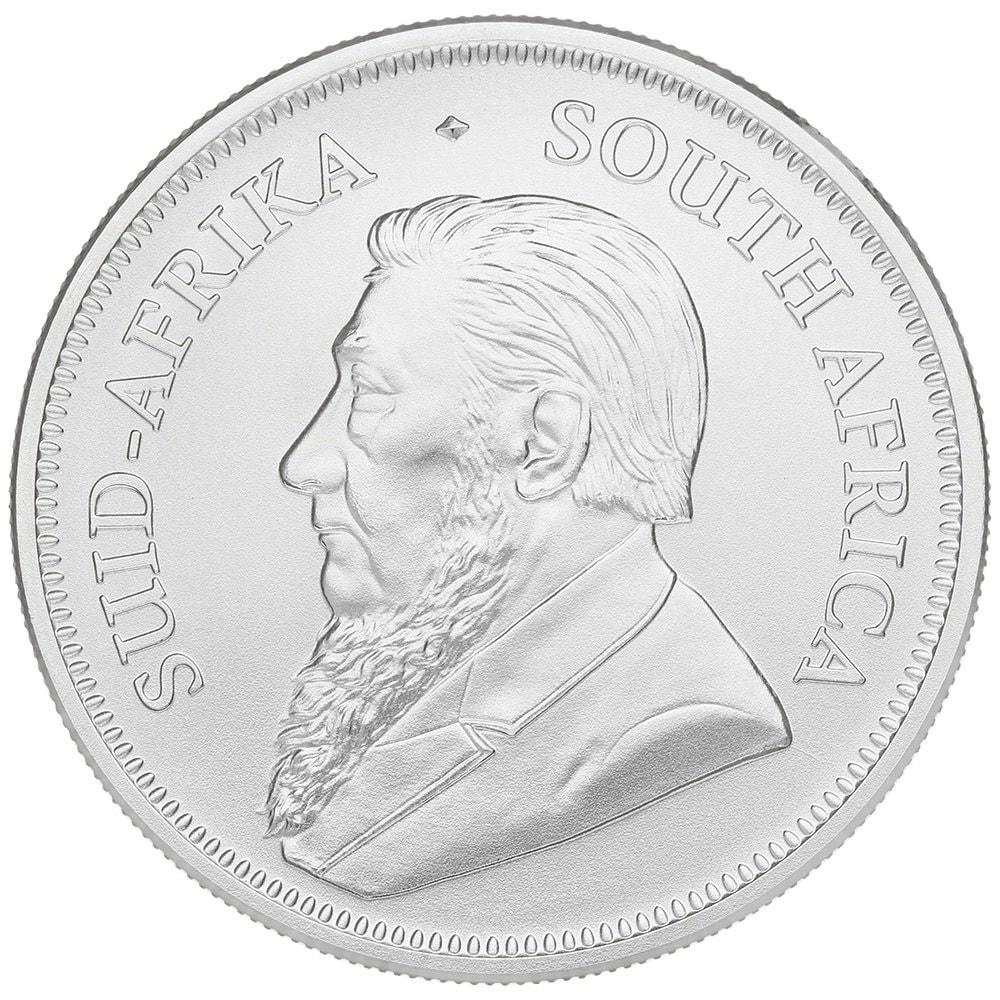 2020 kruger a - 2020 Fine 999.9 Silver 1oz South Africa Krugerrand 1R One Rand Bullion Coin #25