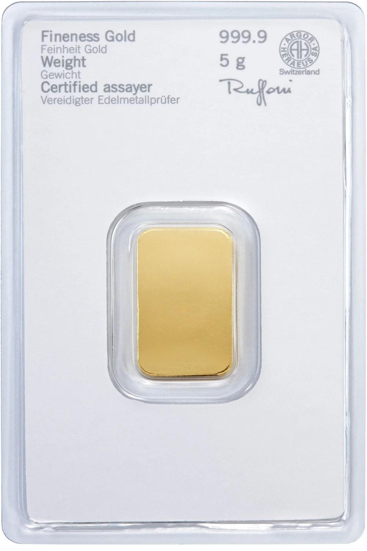 5g Heraeus a - 5.0 gram Fine Heraeus 24 Carat Gold 999.9 24k Gold #265