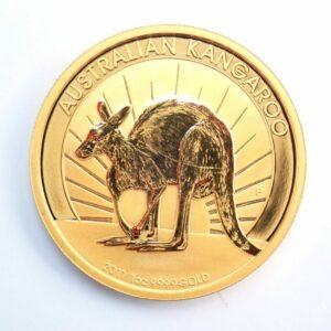 2011 1oz Pure gold 24k Australian Nugget Kangaroo $100 Dollars Coin #0041