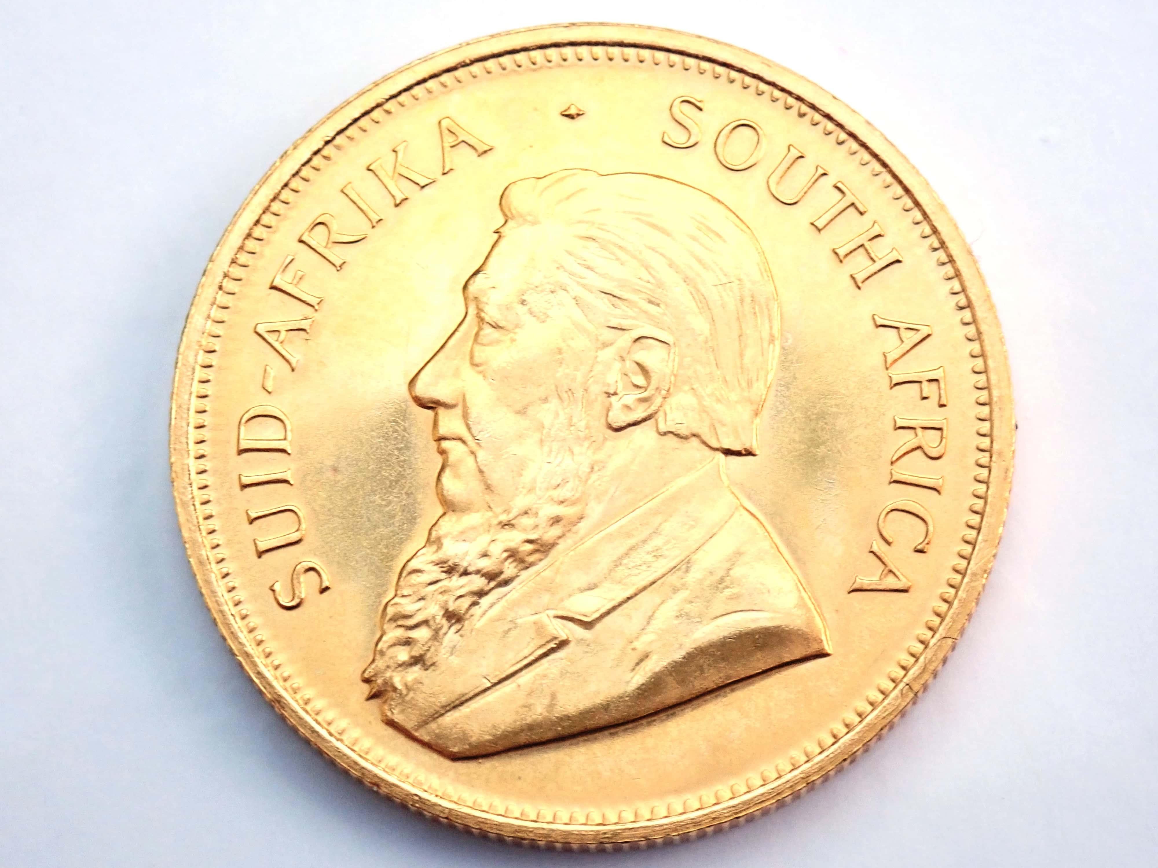 AA000801 1 - 1981 Gold 999.9 1oz South Africa Krugerrand Bullion Coin #0051