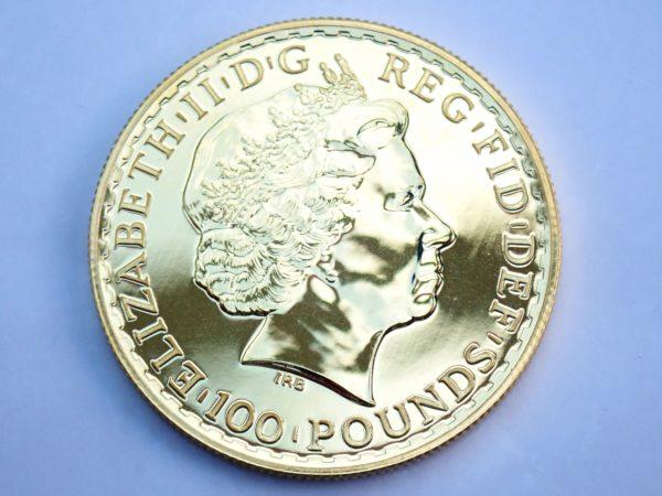 2014 1oz Pure 999.9 Gold 24k £100 Britannia Coin Bullion #0051
