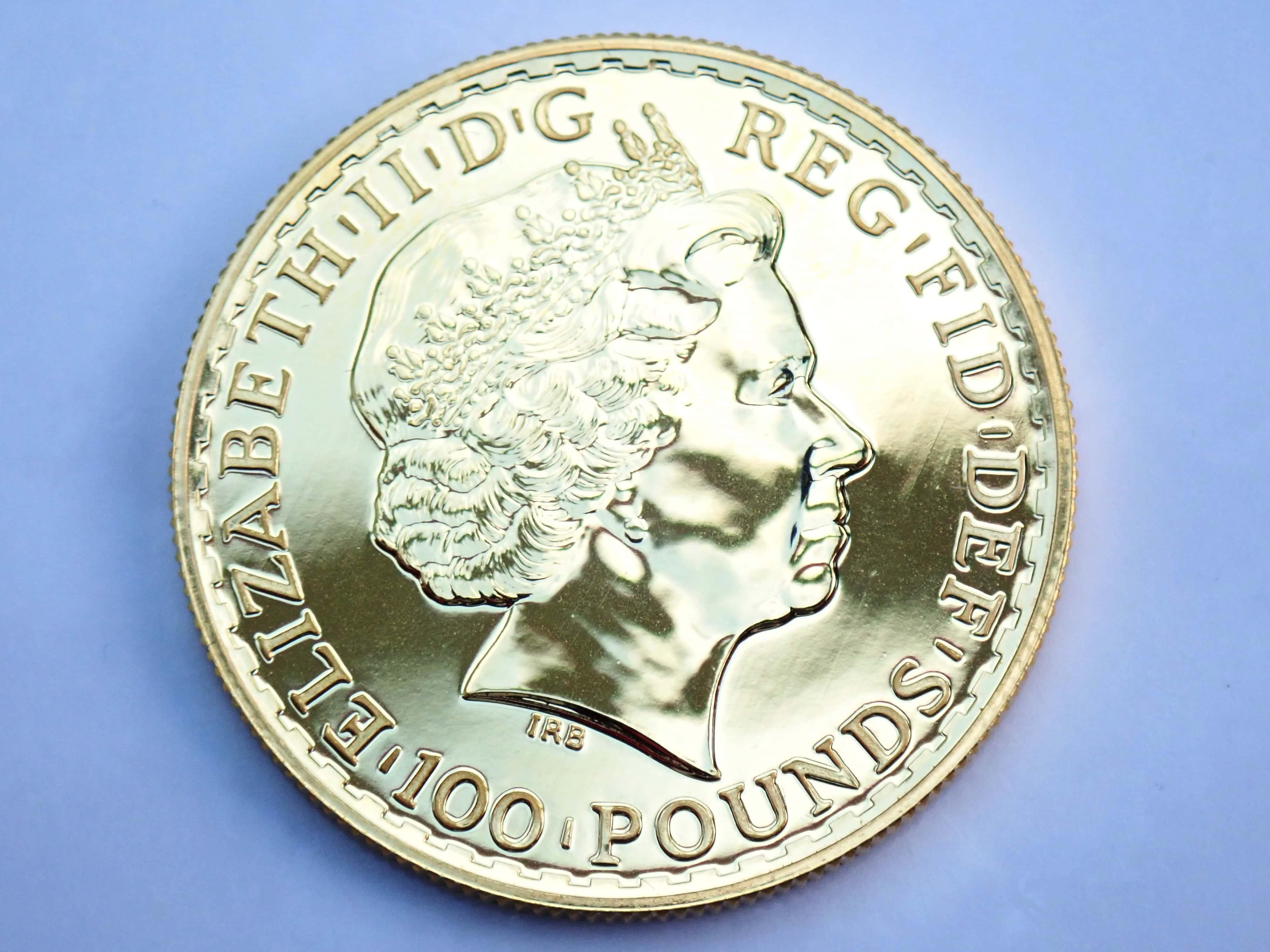 AA000805 1 - 2014 1oz Pure 999.9 Gold 24k £100 Britannia Coin Bullion #0051