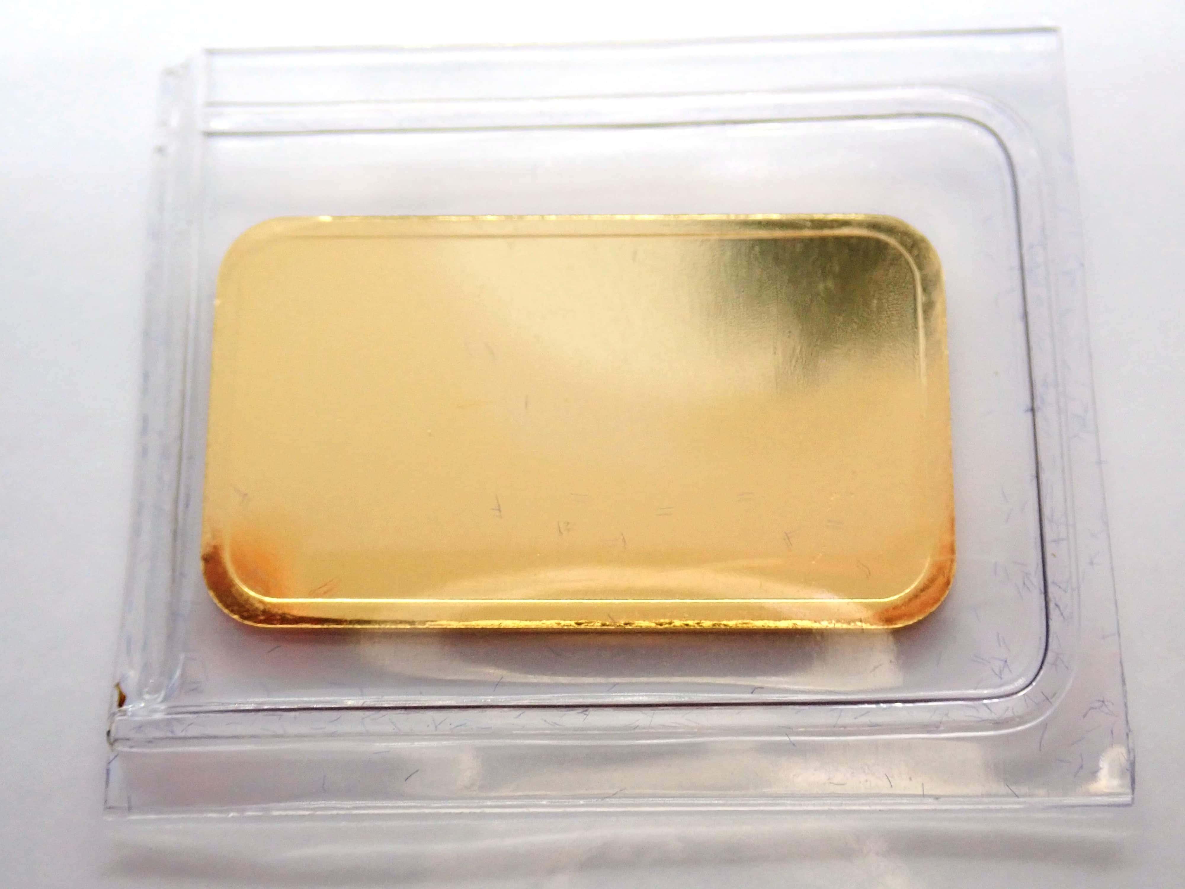 AA000856 - 10 gram Umicore Fine Gold Bar 24 Carat 999.9 Bullion  #