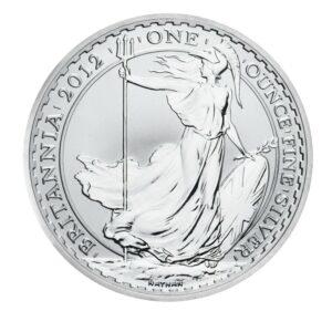 2012 1oz Fine Silver £2 Britannia Coin Bullion #21
