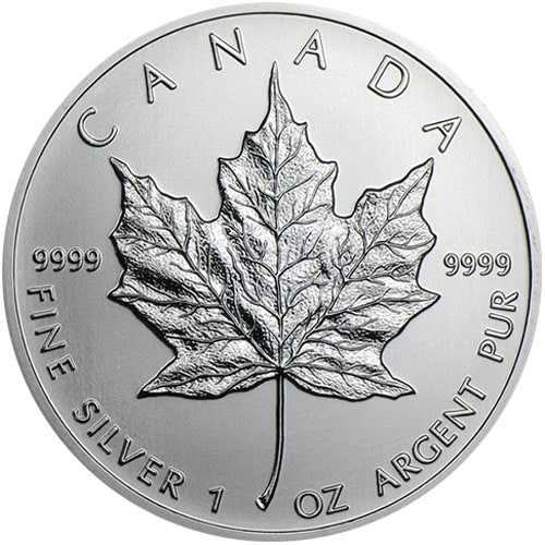 canadian maple1 - 2012 Fine 999.9 Silver Proof 1oz Canadian Maple $5 Dollars Bullion Coin #21
