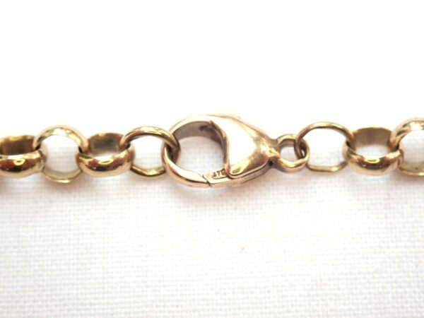 9ct Yellow Gold Belcher Rolo chain 16.3gms 19 Inch #052