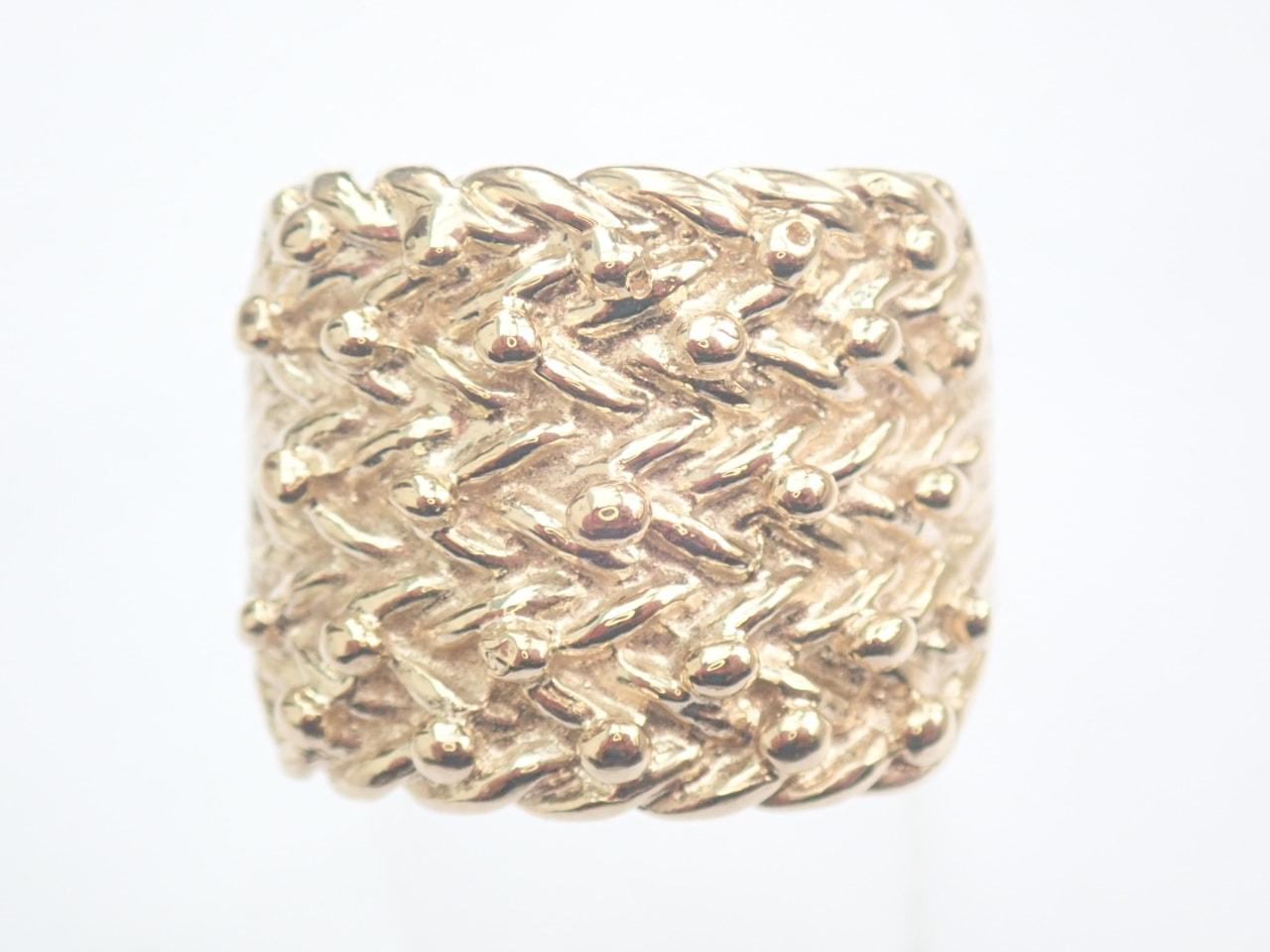 5 Row Gold keeper Ring