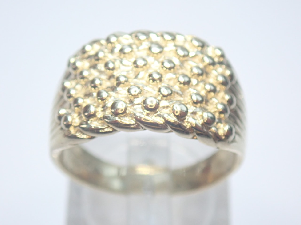 6 Row Gold keeper Ring