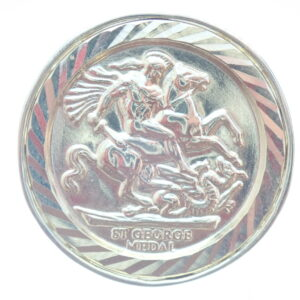 George and Dragon  9ct Gold Medal Full Sovereign Ring
