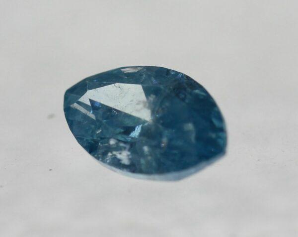 Cert 0.45 Ct Fancy Sky Blue SI2 Marquise Cut Natural Diamond 6.93×3.96m 2VG #71