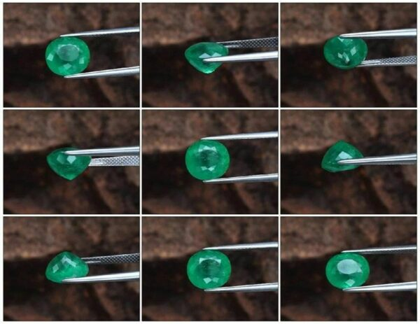 Rare! 3.80ct Natural Green Emerald, Ethiopia 10x9mm Oval *Certified #365