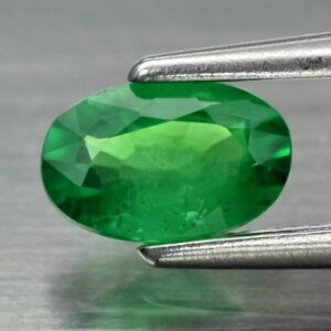 0.37ct 5.5×3.6mm Oval Natural Shocking Green Tsavorite Garnet, Tanzania Video #2