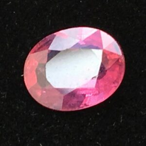 1.12ct 7.5x6mm Oval Natural Unheated Purplish Pink Sapphire Certified #50