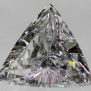 Certified 0.30 Carat D VVS2 Trillion Natural Diamond 4.78×4.76mm 2VG #145