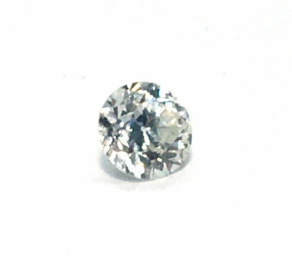 GIA Certified 0.26 CT Round Brilliant Natural Cut Diamond J color SI1 Video #135