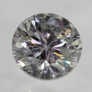 Certified 0.39 Carat F SI2 Round Brilliant Natural Loose Diamond 4.68mm #85