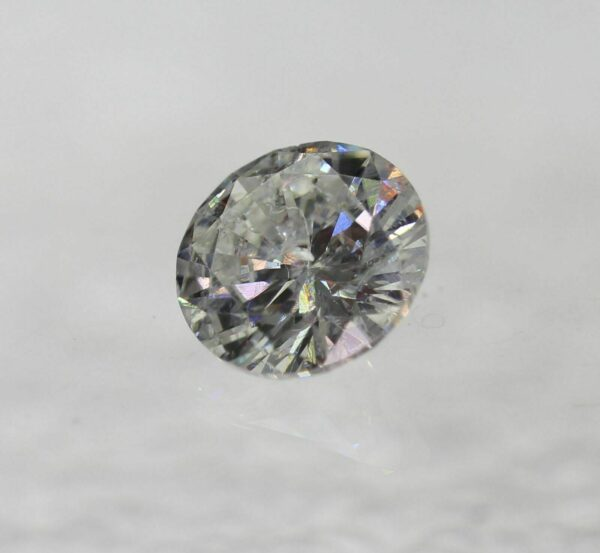 Certified 0.42 Carat E SI1 Round Brilliant Cut  Natural Loose Diamond Ring #140