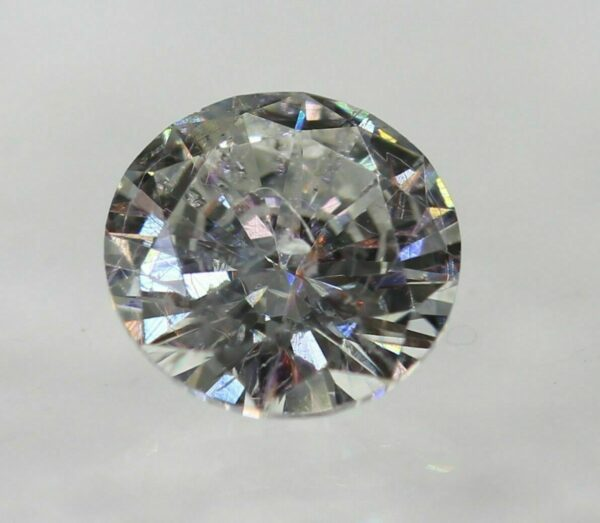 Certified 0.42 Carat E SI1 Round Brilliant Natural Loose Diamond 5mm Ring #140