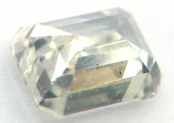 0.28 Carat F Color SI1 Emerald Natural Loose Jewelry Ring 4.26X3.29mm #85