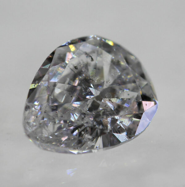 0.21 Carat Diamond G Color VVS2 Pear Shape Natural Loose 5.30X3.30mm Ring  #60
